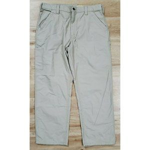 Carhartt Mens B151 Loose Original Tan Pants 38 NWT